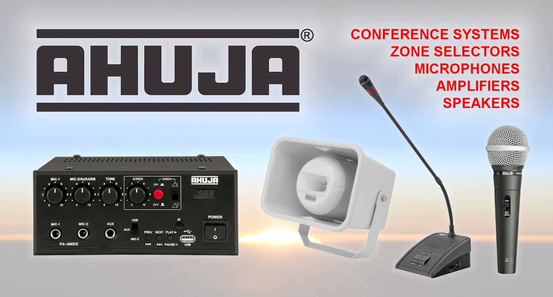 AHUJA PA Systems